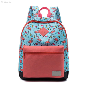 Fashion design school backpack kids school bag