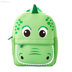 3D Cute Cartoon Neoprene Animal kids school bags wholesale