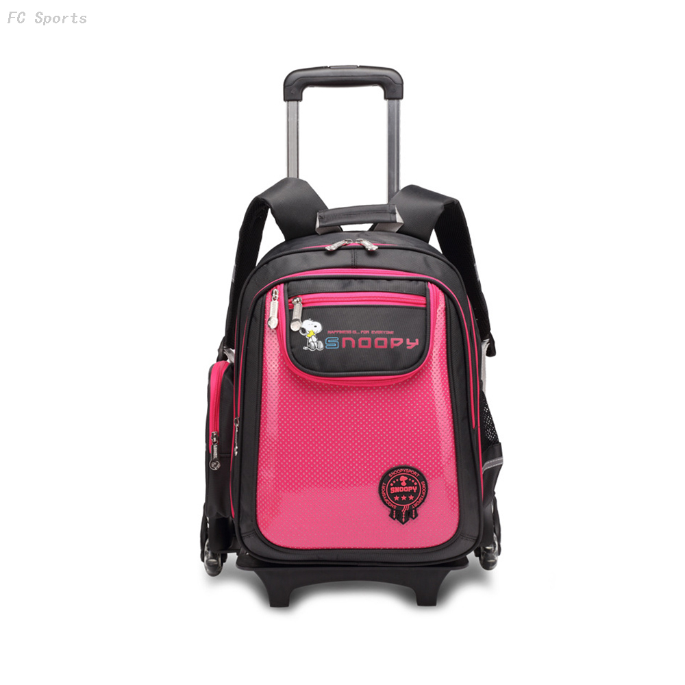 2020 new arrival Removable student school bag trolley