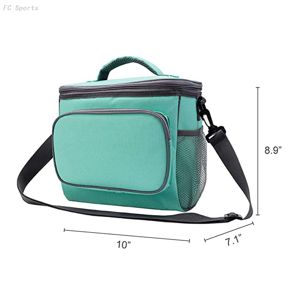 Leakproof Large Capacity Cooler lunch Bag With Removable Shoulder Strap