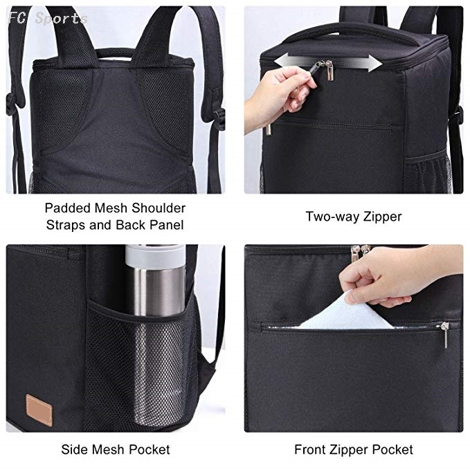 Customized Large Capacity Food Beer Can Insulated Ice Cooler Backpack