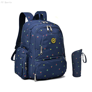 Multi-function travel Backpack for baby with Changing Pad and Portable Insulated Pocket