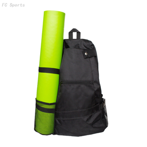 Yoga Mat Bag Gym Sling Backpack Shoulder Carrier Fitness Pilates Yoga Backpack