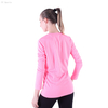 FC Sports Long Shirt Dry Fit Style Women Yoga Wear Slim Breathable Fitness Clothes Wholesale 2019