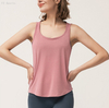 Yoga shirt Sport Tops Cowl Back Tank Tops, dark V back, breathable & wicking, fashionable