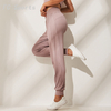 New Pleated Jogging Track Pants Women Casual Loose Yoga Pants Breathable Was Thin Fitness Beam Trousers
