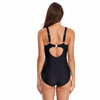 FC Sports Women New Monokini Solid Bodysuit 2019 One-Piece Swimsuit Sexy Beachwear Sports Swimsuit