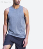 Men's sports tanks quick-drying outdoor running vest loose breathable sports training fitness vest