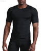 Sports top tight-fitting wicking breathable fitness suit Running training short-sleeved t-shirt