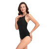 FC sports Women's Vintage Athletic Training Cover up One Piece Swimwear Bathing Suit