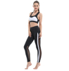 2019 Sports Wear Yoga Sets Running Legging Bra Clothes Train Active Gym Wear For Women 2PCS
